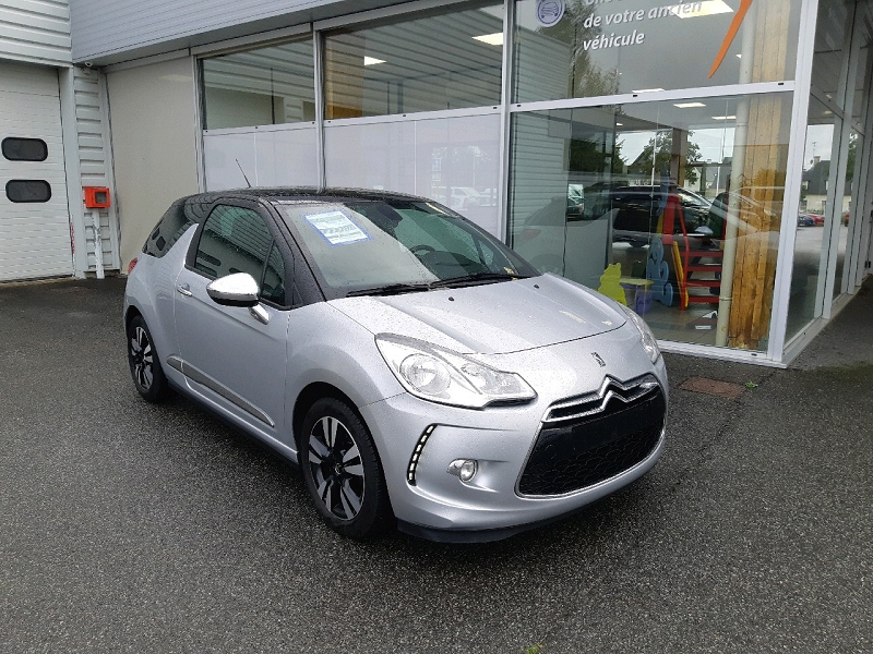 Citroen DS3 1.2 VTI PURETECH SO CHIC Essence GRIS ALUMINIUM Occasion à vendre