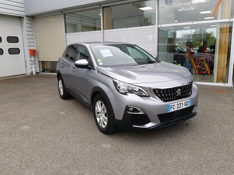 Peugeot 3008 1.5 BLUEHDI 130CH E6.C ACTIVE BUSINESS S&S EAT8 Diesel GRIS ARTENSE Occasion à vendre