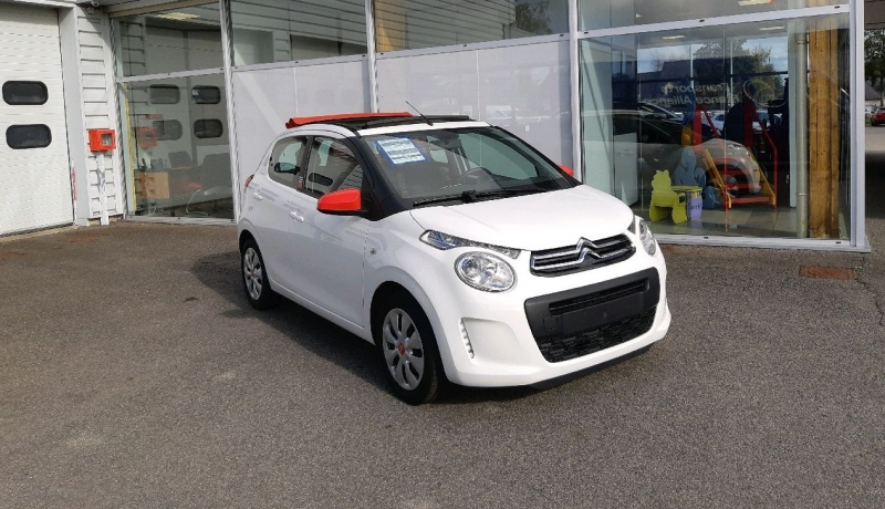 Citroen C1 AIRSCAPE VTI 68 FEEL 5P Essence BLANC Occasion à vendre