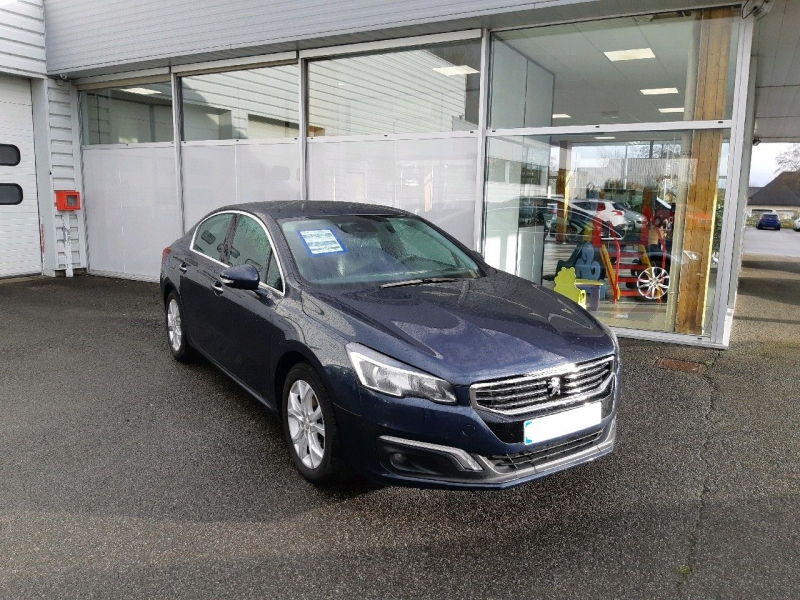 Peugeot 508 1.6 THP 16V 165CH ALLURE S&S EAT6 Essence BOURRASQUE Occasion à vendre