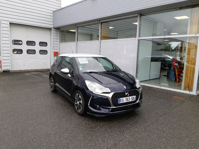 Photo 1 de l'offre de DS DS 3 BLUEHDI 100CH DRIVE EFFICIENCY SO CHIC S&S à 10490€ chez Carlyss automobiles