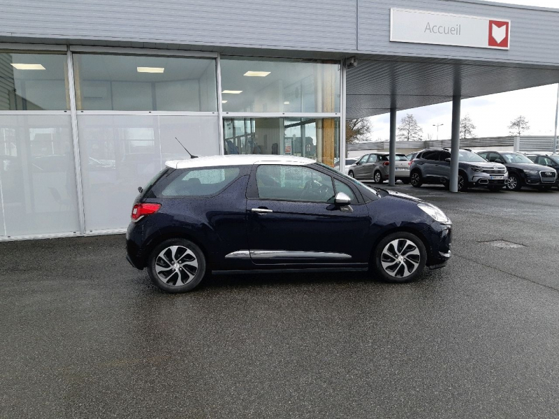 Photo 2 de l'offre de DS DS 3 BLUEHDI 100CH DRIVE EFFICIENCY SO CHIC S&S à 10490€ chez Carlyss automobiles