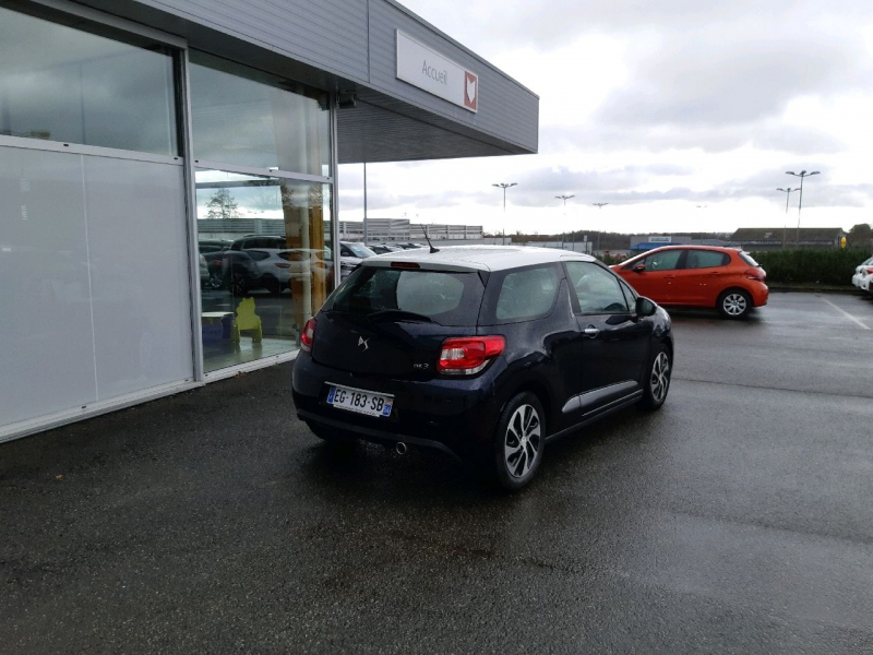 Photo 3 de l'offre de DS DS 3 BLUEHDI 100CH DRIVE EFFICIENCY SO CHIC S&S à 10490€ chez Carlyss automobiles