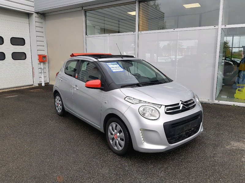 Citroen C1 AIRSCAPE VTI 68 FEEL 5P Essence GRIS   Occasion à vendre
