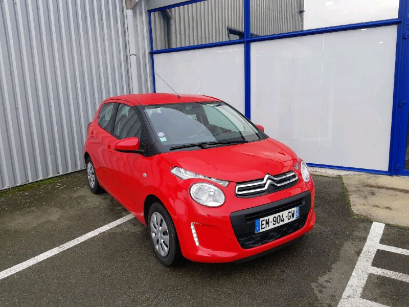 Citroen C1 VTI 68 FEEL 5P Essence ROUGE  Occasion à vendre