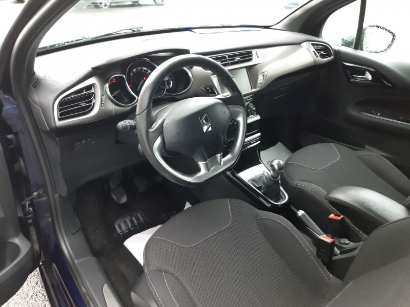 Photo 4 de l'offre de DS DS 3 BLUEHDI 100CH DRIVE EFFICIENCY SO CHIC S&S à 10490€ chez Carlyss automobiles