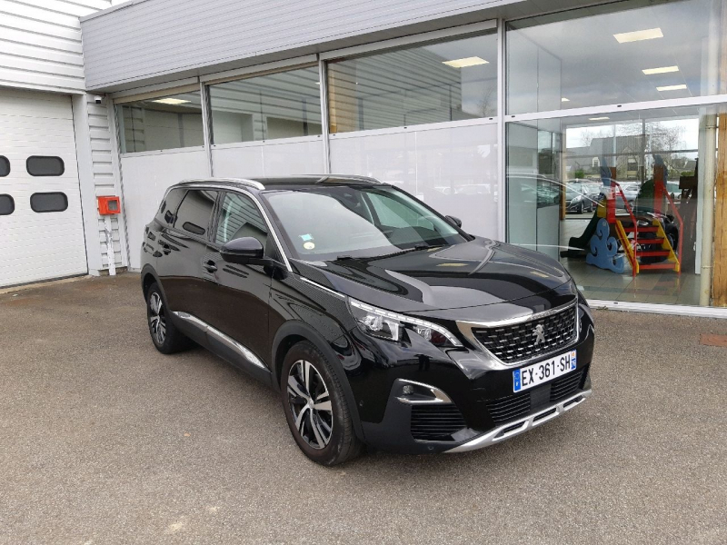 Peugeot 5008 1.6 BLUEHDI 120CH ALLURE BUSINESS S&S EAT6 Diesel NOIR Occasion à vendre